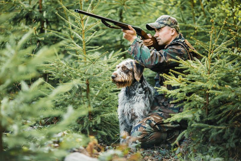 utrustning-smygjakt-jägare-hund